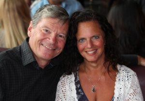 Owners Glen and Zahia Thomson